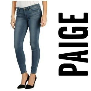 Paige Verdugo Crop Jeans, size 31